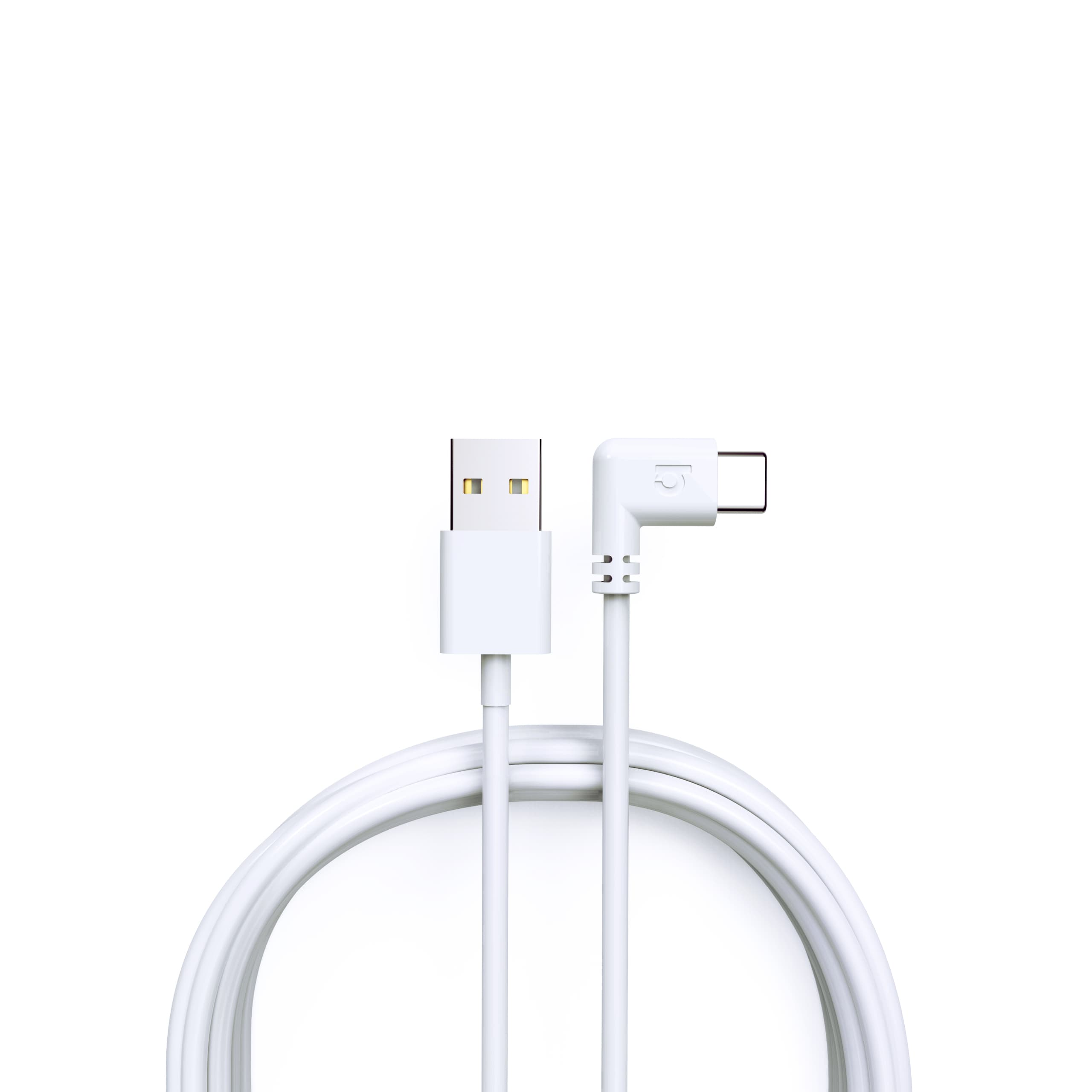 Right-Angled USB-C to USB-A 6ft Sync and Charge Cable