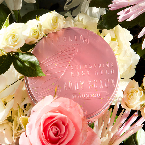 Hallu Fairy Rose Gold Body Scrub