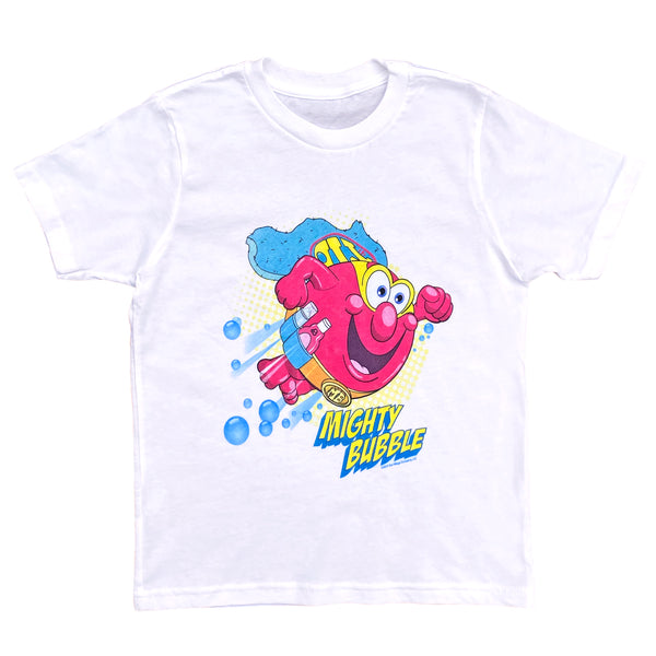 Mighty Bubble T-shirt white