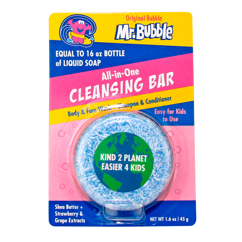 Mr. Bubble All-in-One Cleansing Bar