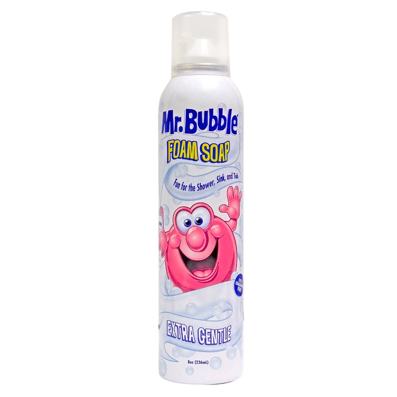 Mr. Bubble Extra Gentle Foam Soap 8 oz