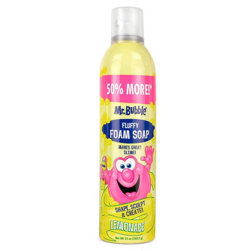 Mr. Bubble Lemonade Foam Soap 12 oz