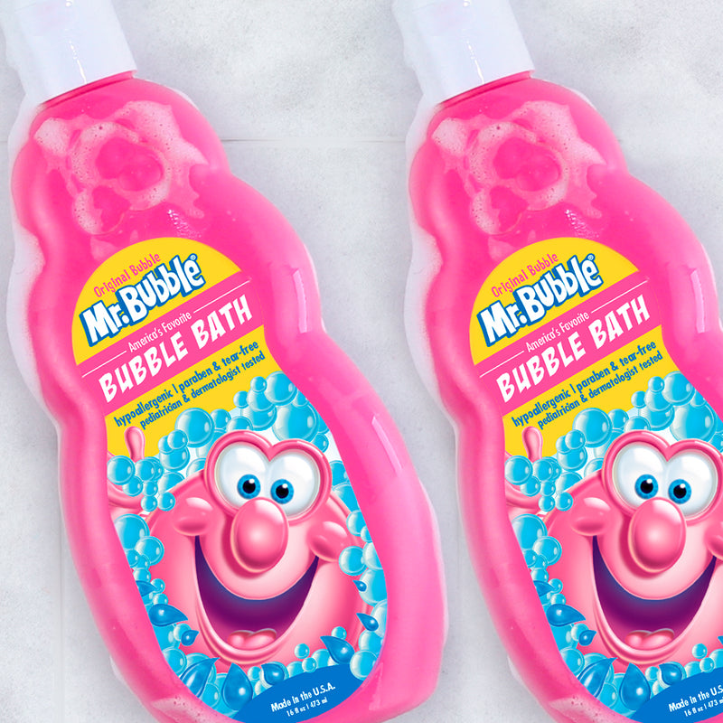 Mr. Bubble Original Bubble Bath 16 fl oz 2 Pack