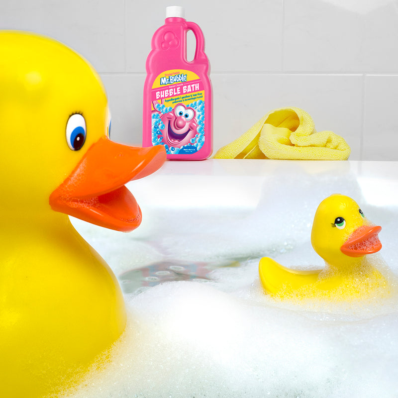 Mr. Bubble Original Bubble Bath 36 fl oz With Rubber Ducks