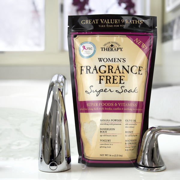 Village Naturals Therapy Women's fragrance free super soak