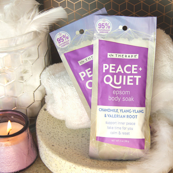 Village Naturals Therapy Peace & Quiet body soak