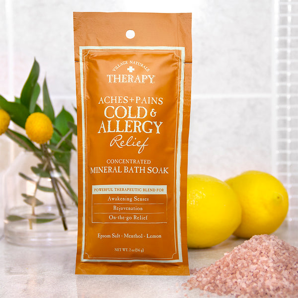 Cold & Allergy Relief Concentrated Bath Soak 2 oz