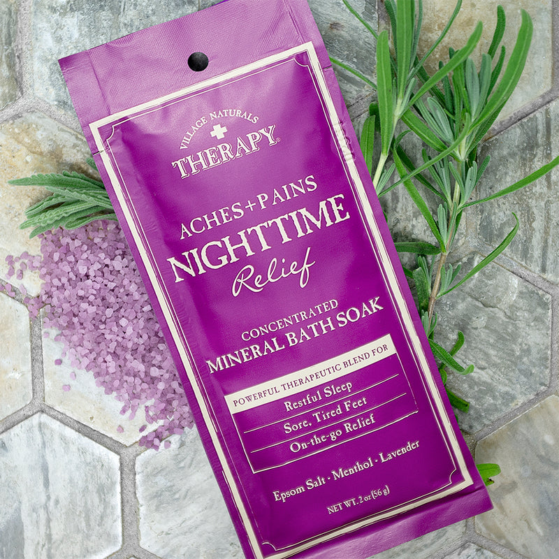 Nighttime Relief Concentrated Mineral Bath Soak 2 oz