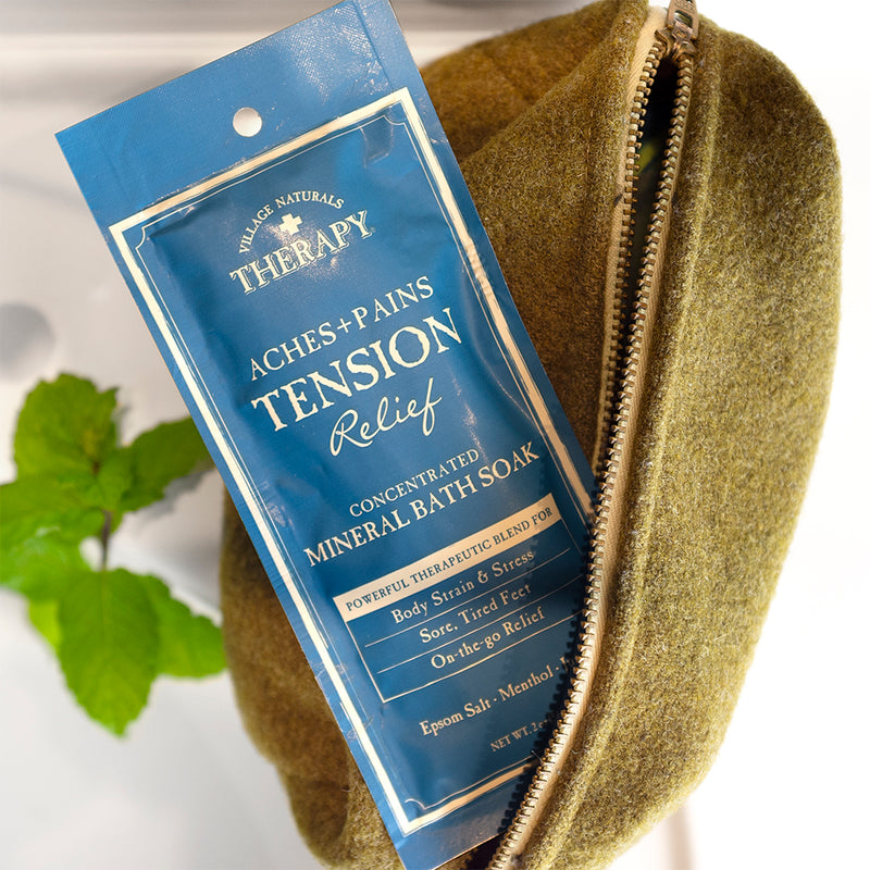 Tension Relief Concentrated Mineral Bath Soak 2 oz