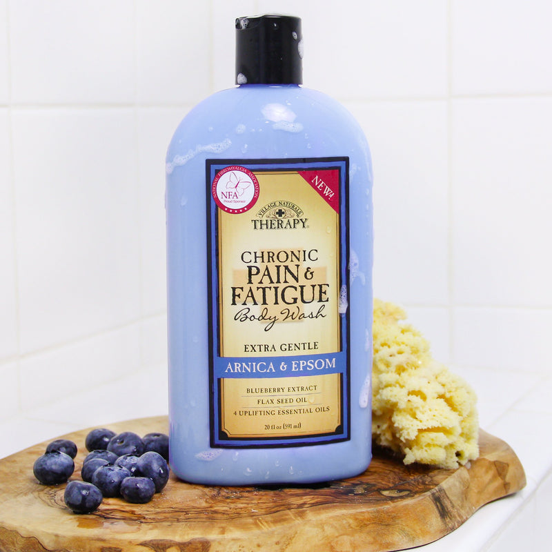 Village Naturals Therapy Chronic Pain Body Wash
