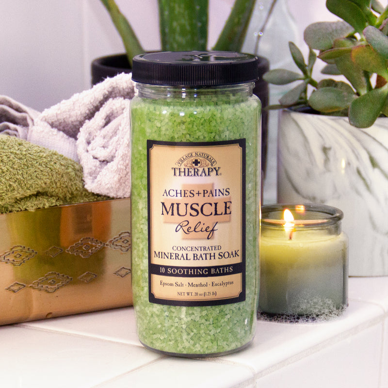 Muscle Relief Concentrated Mineral Bath Soak