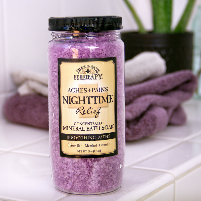 Nighttime Relief Concentrated Mineral Bath Soak 20 oz