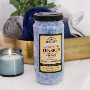 Tension Relief Concentrated Mineral Bath Soak 20 oz