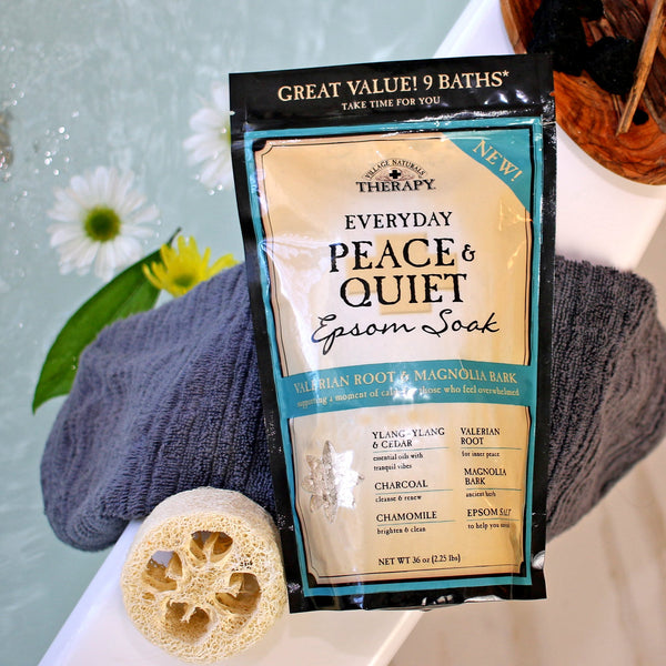 Village Naturals Therapy Everyday Peace & Quiet Epsom Soak