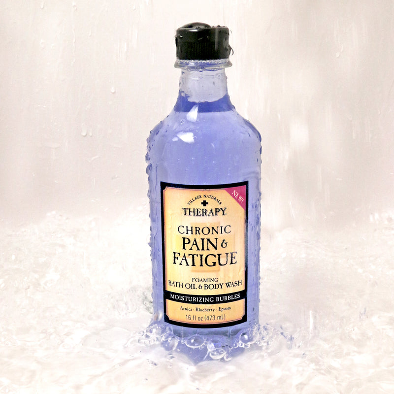 chronic pain bath oil and body wash