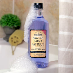 chronic pain foaming bath oil and body wash