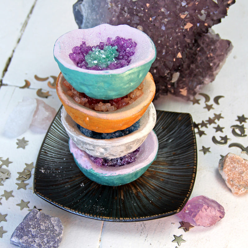 Hallu Cosmic Geode Bath Bombs