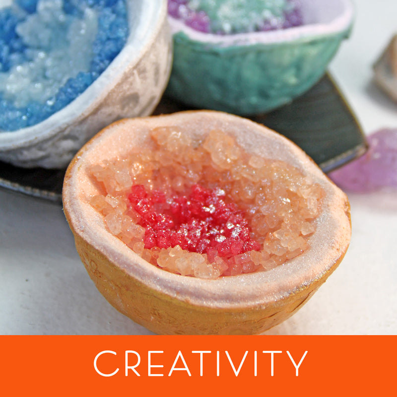 Cosmic Hallu Creativity Geode Bath Bomb