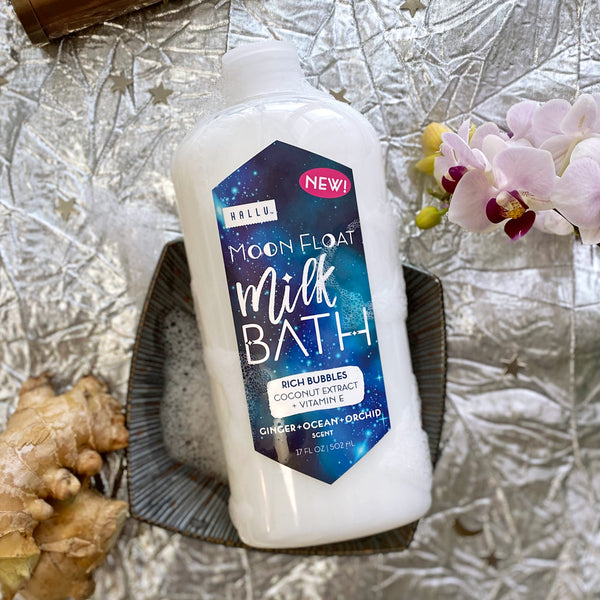 Hallu Cosmic Moon Float Milk Bath