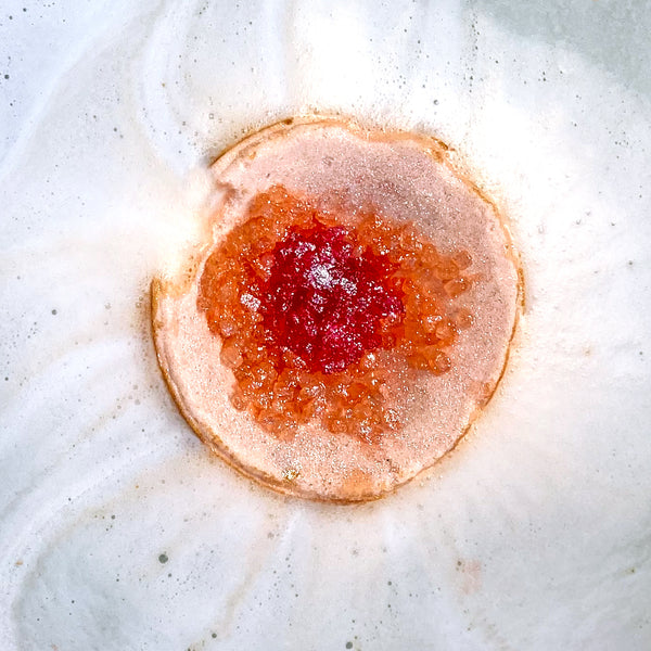 Hallu by Peyton Orange Geode Bath Bomb