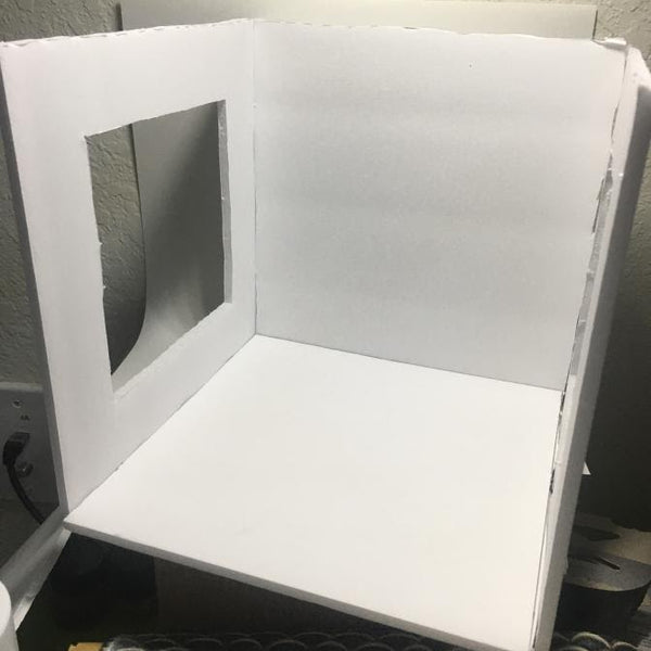Making a DIY Light Box for Product Photography