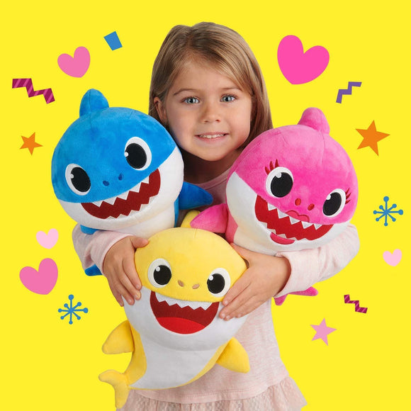 Baby Shark Song Doll - Cuddle Baby Shark Doll