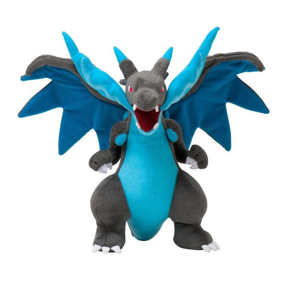 25CM Anime Figure Charizard Plush Dolls Mega