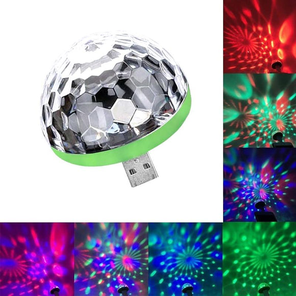 Portable USB Disco Light