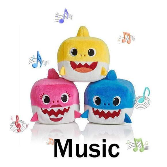 Baby Shark Sound Cubes - Musical Shark Toy