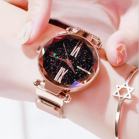 Glitz and Glamour Magnetic Fashion Watch