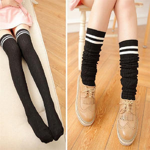 2019 New Fashion Sexy Long Cotton Stockings For Ladies