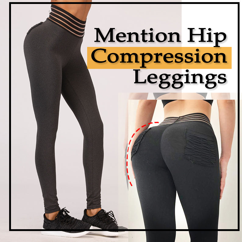 1480903bca1c7  Time-limited promotion  High Waist Mention Hip Compression Leggings 🎁😍 As  low