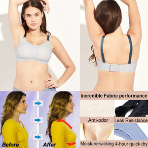 *2019 Hot Selling* No Pads Plus size Reversable Wireless Bra【80%OFF Flash Sale 】【Free 15 day trial】