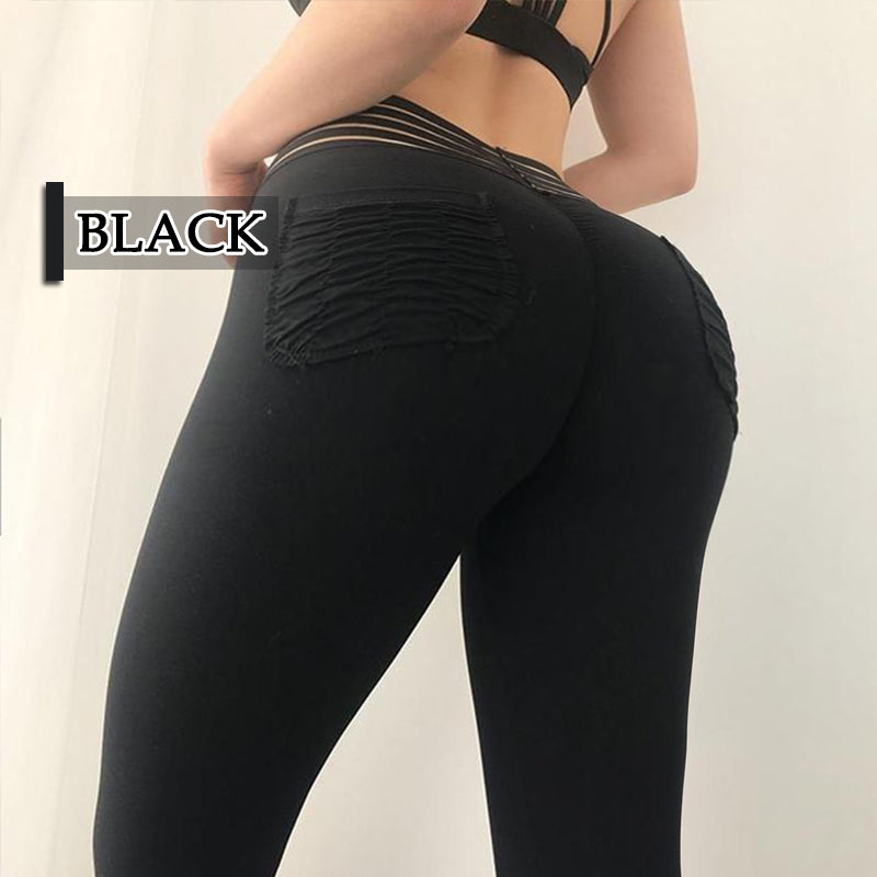 *Time-limited promotion* High Waist Mention Hip Compression Leggings 🎁😍 As low as to $22.97 😍🎁