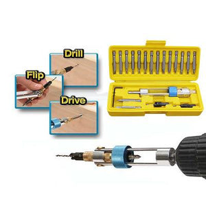 20PC Disassembly Tools Swap Drill Bit Set