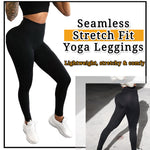 Seamless Yoga Leggings Pants Stretch Fit for Women