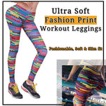 Ultra Soft Fashion Print Workout Leggings