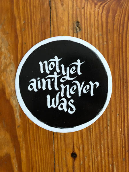 """Not Yet, Foolish Internet"" // Sticker 3 Pack"