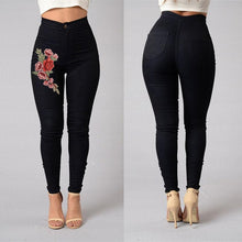 Load image into Gallery viewer, Blue Rose Woman High Waist Push Up Skinny Jean Pants