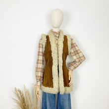 Load image into Gallery viewer, The Penny 1970s Suede Gilet