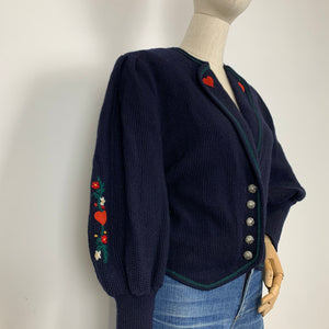 The Climbing Rose Cardigan