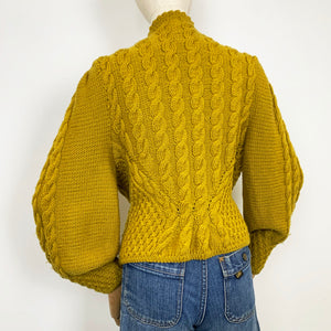 The Mustard Leaves Cardigan