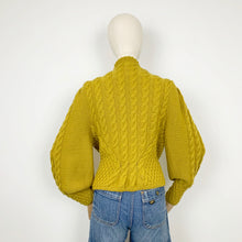 Load image into Gallery viewer, The Mustard Leaves Cardigan