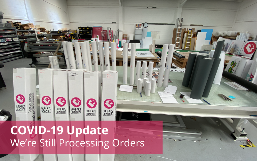 COVID-19 Update - We're still Processing Orders