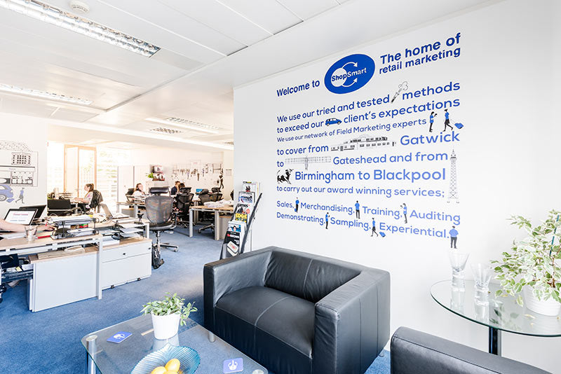 The Most Popular Way That Companies Like To Showcase Their Corporate Values Is Through Customisable Word Cluster Wall Sticker
