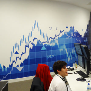 Notion Capital Wall Graphics office refurb project