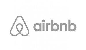 Air BnB Logo Clients we have worked with, tech companies