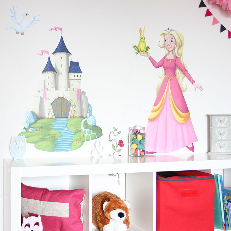 girls wall stickers