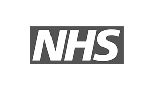 NHS Logo for branding and office space.