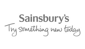 Sainsbury's Company logo wall decal client
